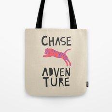 Chase Adventure, nursery art, children's art Tote Bag
