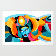 iluminado_01 Art Print
