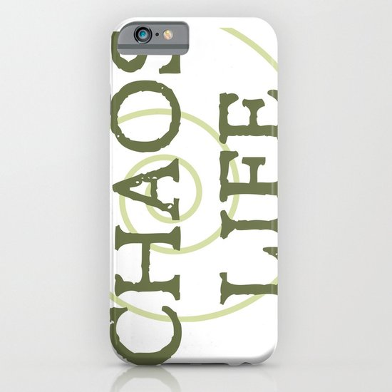 ChaosLife: The Print iPhone & iPod Case