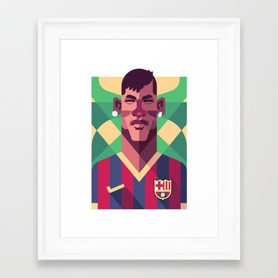 N11 | Blaugrana Framed Art Print
