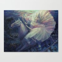 Silent Music Box Canvas Print