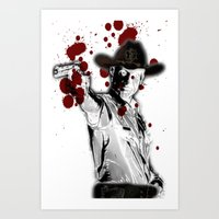 UNREAL PARTY 2012 THE WALKING DEAD Art Print
