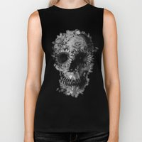 Skull 2 / BW Biker Tank