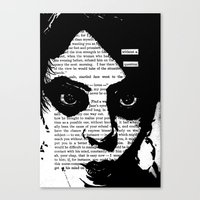 Without a Question Canvas Print