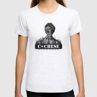 Cochese... Womens Fitted Tee Ash Grey SMALL