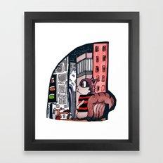 Oh What A World! Framed Art Print