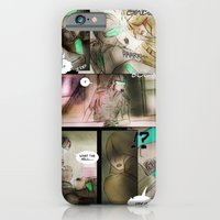 iPhone & iPod Case featuring comic strip - chimericall by NosProd