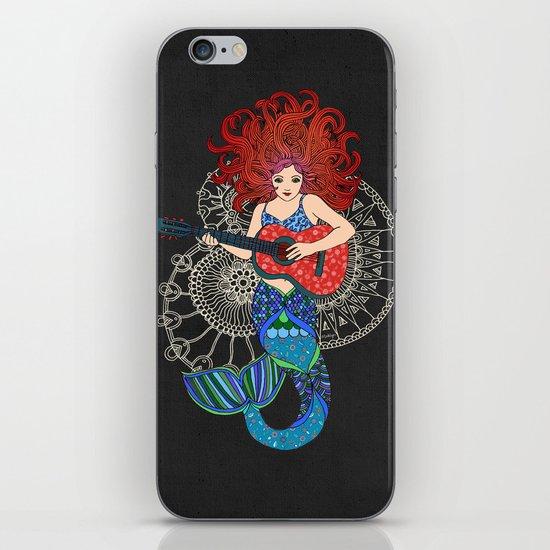 Musical Mermaid iPhone & iPod Skin