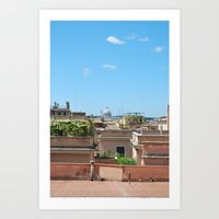 Peter in the Distance Art Print
