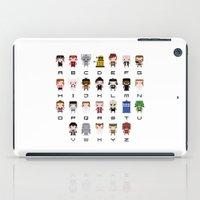 Doctor Who Alphabet iPad Case