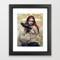 Death By Alex Garant Framed Art Print