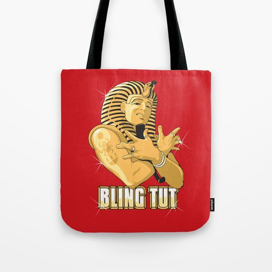 Bling Tut Tote Bag