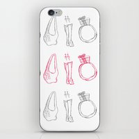 Accessories - Original Pen Ink Sketch iPhone & iPod Skin