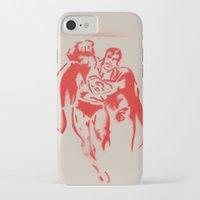 superman iPhone & iPod Cases featuring Superman by jfaiscquejveux
