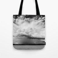 White Clouds Tote Bag