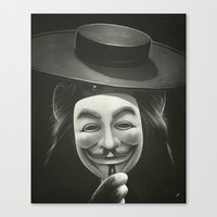 Anonymous II Canvas Print