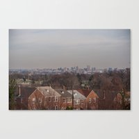 Baltimore is a Graveyard  Canvas Print