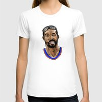 Amar'e Stoudemire Womens Fitted Tee White SMALL