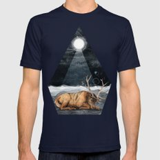 The Unsleeping Dream Mens Fitted Tee Navy SMALL