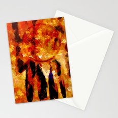 ABSTRACT-Dreamcatcher Stationery Cards