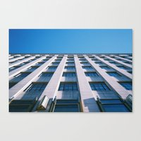 Canvas Print featuring ligne d'horizon by Ava Nelson