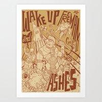 Half Life 2 tribute Art Print