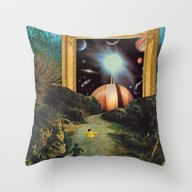 Run, Run, Dreamers Throw Pillow