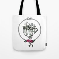Storm in a teacup Tote Bag