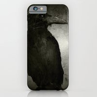 iPhone & iPod Case featuring The Crow by Roma