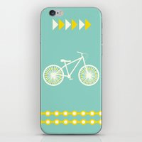 Saturday Bike Ride iPhone & iPod Skin