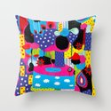Some Things Are Better Left Unexplained  Throw Pillow