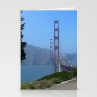 Golden Gate Bridge From … Stationery Cards