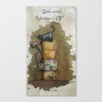 Schrödinger`s Cat Canvas Print