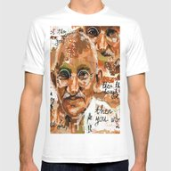 Gandhi Wins Mens Fitted Tee White SMALL