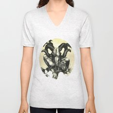 The Ram and the Crows Unisex V-Neck