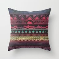 Throw Pillow featuring Tribal   Autunno by Creative Haus By Luk…