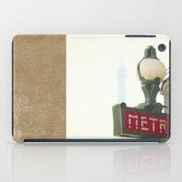 Metro In Paris iPad Case