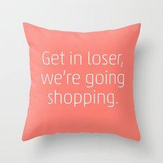 Mean Girls #6 – Shopping Throw Pillow