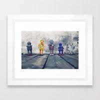 Identity Parade Framed Art Print