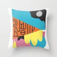 Espectre (#3) Throw Pillow