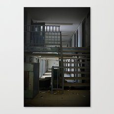 Abandoned Prison, No Walkers  Canvas Print