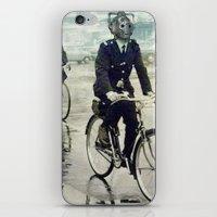 Cybermen on bikes iPhone & iPod Skin