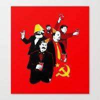 The Communist Party (variant) Canvas Print