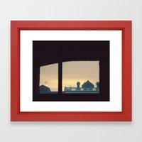 Lo inesperado Framed Art Print