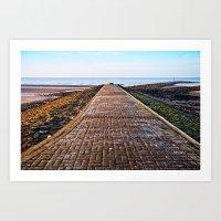 Irvine Promenade  Art Print