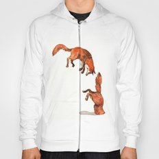 Jumping Red Fox Hoody