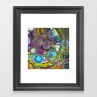 Circoli Framed Art Print