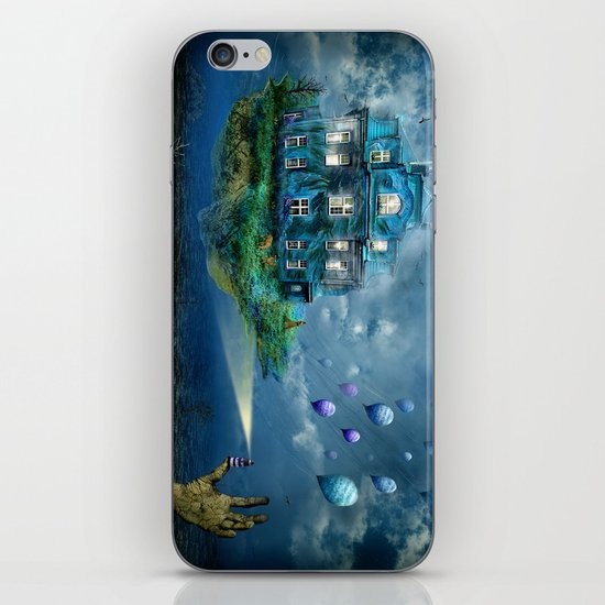 A journey with the wind iPhone & iPod Skin