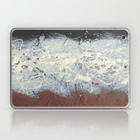 Pollock Rothko Inspired Black White Red Abstract Laptop & iPad Skin