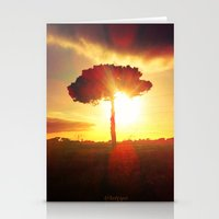 Lonely Tree. Stationery Cards